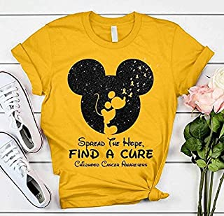 Spread The Hope Find A Cure Childhood Cancer Awareness Disney Mickey Mouse.