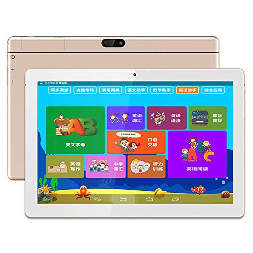 tablet PC para niños PC de 10,1 Pulgadas Smart Touch IPS HD Pantalla Android PC Máquina de Aprendizaje portátil para niños