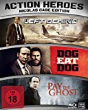 Action Heroes - Nicolas Cage Edition : Dog Eat Dog - Left Behind - Pay The Ghost - Limited Edition 3Blu-ray