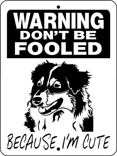 43LenaJon Australian Shepherd Dog Sign 12