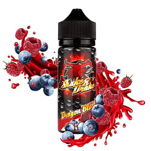 Riccardo DIY Longfill e-Liquid Shake and Drake (70% VG/30% PG, zum Mischen mit Base Liquid für e-Zigarette, 0 mg Nikotin) Dragon Blood, 80 ml