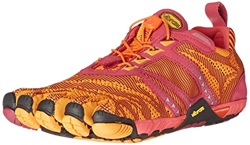 Vibram FiveFingers KMD Evo, Chaussures Multisport Outdoor Femme, Multicolore (Red/Orange/Black), 36 EU