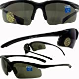 Apex Bifocal Safety Glasses UV400 Magnifying Reading Eyewear 1.50 Magnifier Smoke Lens
