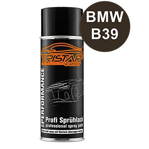 TRISTARcolor Autolack Spraydose für BMW B39 Mineralgrau Metallic/Mineral Grey Metallic Basislack Sprühdose 400ml