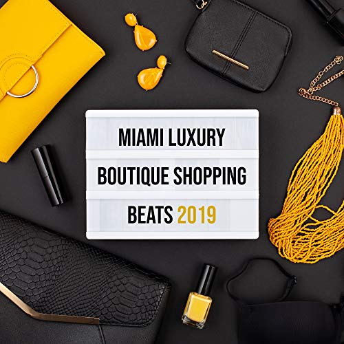 Miami Luxury Boutique Shopping Beats 2019 – Compilation of Sunny Chillout Music for Shops with Clothes & Elegant Boutiques, Beats for Pleasant Shopping