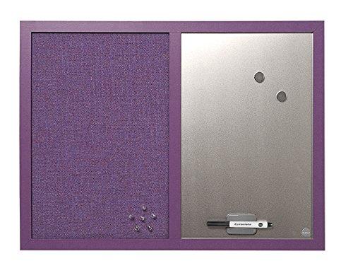 Bi-Office Lavander - Tablón de anuncios, 60 x 45 cm