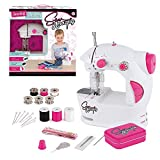 Sew Amazing TY6142 Station, Complete Textile Sewing Machine Set for Kids