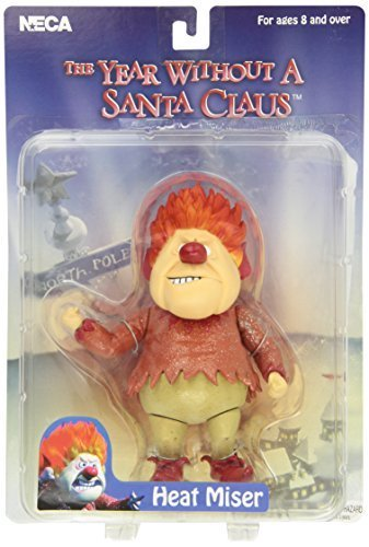 NECA Year Without a Santa Claus Heat Miser Action Figure