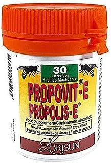 Propóleo-E 30 Pastillas Masticable con Propóleo. Vitamina C y Eucalipto.