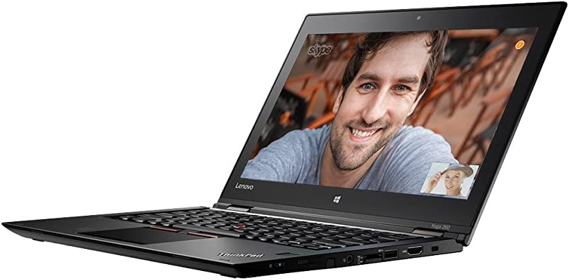 Lenovo ThinkPad YOGA 260 31 7 cm 12 5 Zoll Laptop Intel Core i5 6200U 8GB RAM 256GB SSD Win 10 Pro schwarz Schätzpreis : 572,65 €