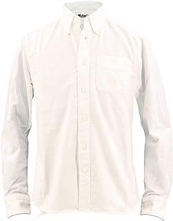 [SWEEP!! スウィープ!!] メンズ ソリッド フランネル ボタンダウンシャツ SOLID FLANNEL WHITE(ホワイト)