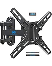 Mounting Dream TV Mount Swivel and Tilt for Most 13-43 Inch TVs and Monitors, Full Motion TV Wall Mount Bracket with Articulating Arm, Max VESA 200x200mm, Loading 50 lbs, MD2465
