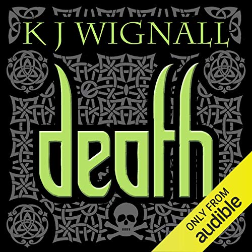 Death audiobook cover art