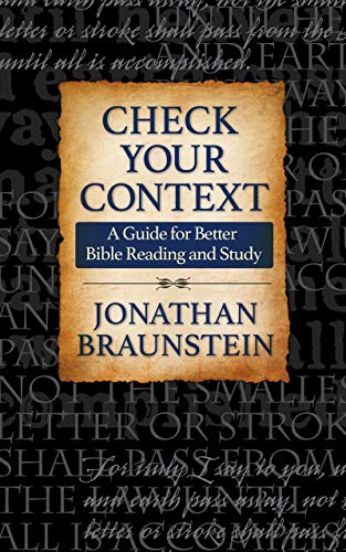 Check Your Context: A Guide to Better Bible Reading and Study