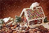 Kits de pintura por números 40 x 50 cm lienzo pintura al óleo de bricolaje para niños - casa de jengibre decoración de la pared del hogar (sin marco)