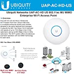 Ubiquiti UniFi HD 802.11ac Wave 2 Enterprise Wi-Fi Access Point (UAP-AC-HD-US) 10 Product 1: Ubiquiti Networks networks Unifi AP, AC mesh Product 2: The US-8-60W is an 8-port gigabit switch with four 802.3af PoE ports. Its auto-sensing PoE ports deliver up to 15.4W of power per port. Product 2: Non-Blocking Throughput The new 8-port models feature Gigabit Ethernet ports in a compact form factor. For its total, non-blocking throughput, each UniFi Switch supports up to 8 Gbps.