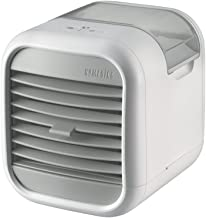 HoMedics MyChill Personal Space Cooler, 4-Foot Cooling Area, Two Fan Speeds, Clean Tank Technology, Add Water, Plugs into 110v Outlet, Perfect for Office, Dorm, Nightstand, PAC-20 White