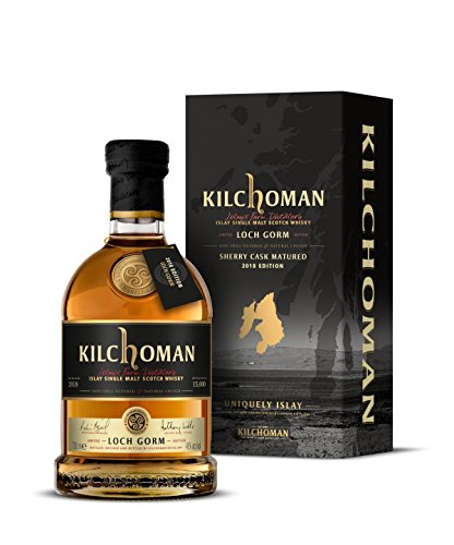 Kilchoman Loch Gorm 2018 Edition Sherry Cask Mature Malt Scotch Whisky in Gift Box - 700 ml