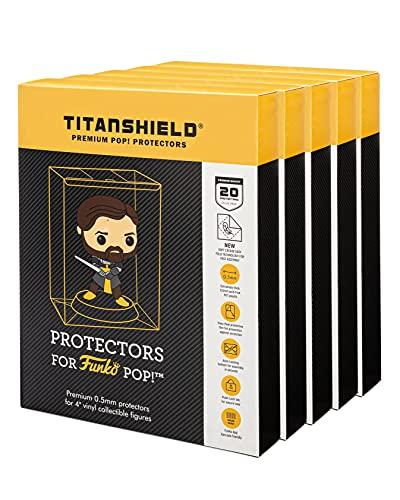 TitanShield Funko Pop Lot de 100 pochettes de protection pour Funko 10,2 cm 0,5 mm