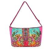 Laurel Burch Crossbody Handbag, 15' x 10', Flora