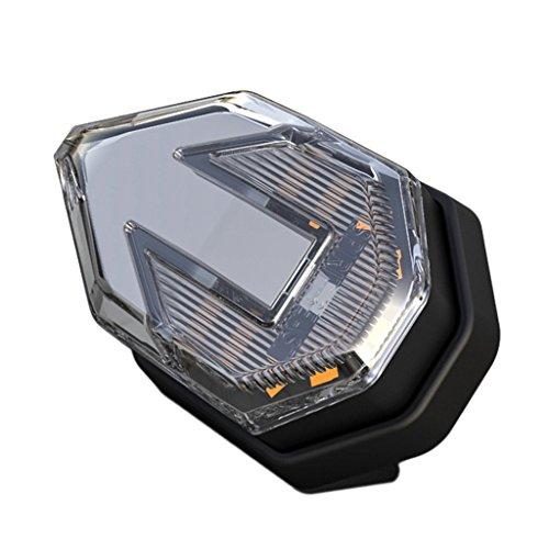 Homyl Lumière d'Avertissement LED Lumière Clignotant de Moto 12V - Bleu