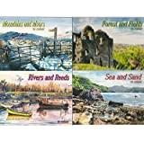 Countryside Scenes to Colour - set of 4 Books (Cou