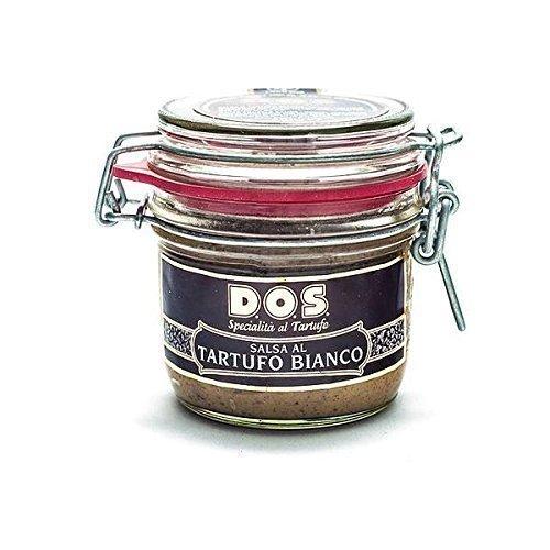 Salsa De Trufas Blancas 200 Gram - Producto Típico Gourmet Italiano (Umbria)