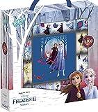 Totum Disney Frozen II Caja de Adhesivos con Más de 1100 Pegatinas