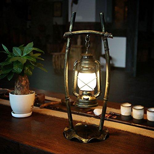 New Lamps Creative Vintage Antique Luodan Kai den europ¨¦enne restaurant lampe chambre bar fer lampe ¨¤ p¨¦trole lanterne