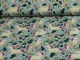 Jersey Baumwolle Einhörner von Swafing, bunt (25cm x