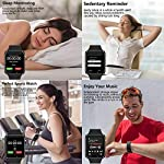 Fashion Shopping 321OU Smart Watch Compatible iOS Android iPhone Samsung for Men Women, Make/Answer
