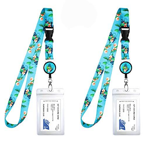 2-Pack Cruise Lanyard & Waterproof ID Key Card Holder Clip. Matching Retractable Badge Reel. Bonus Travel Organizer Bag. Essential Cruise Ship Accessories. Anchor Floral Nautical Theme