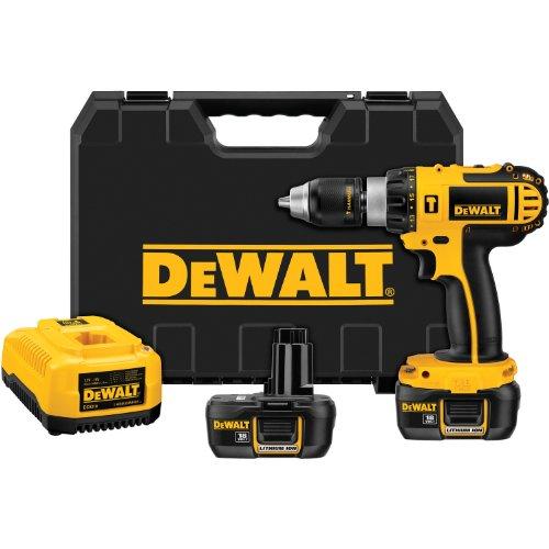 DEWALT DCD775KL 1/2-Inch 18-Volt Cordless Compact Lithium-Ion Hammer-Drill Kit -