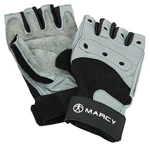 Marcy Fitness Fit Pro - Guantes de entrenamiento (talla XXL), color gris