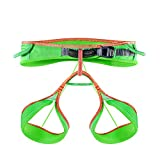 KAILAS Tabary Ultralight Harness for Sport Climbing, Technical Climbing and Ice Climbing(Neon Green,L)