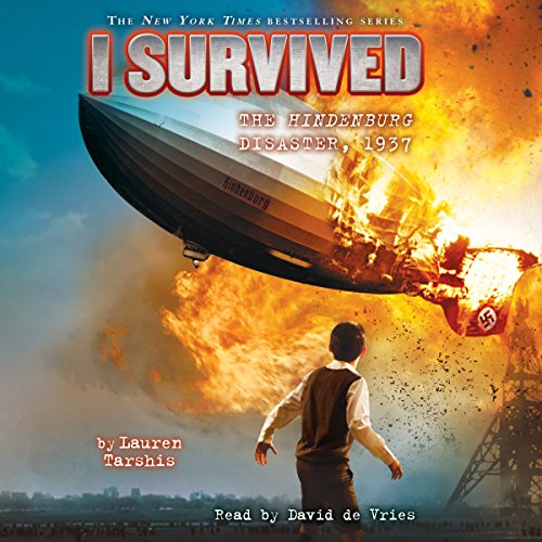 I Survived the Hindenburg Disaster, 1937 copertina