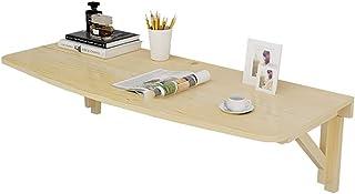 Tables Murale Enfants Pliante, Mur Mounted Bureau en Bois, Facile à Installer, Construction Stable Robuste, Bureaux Mur fo...