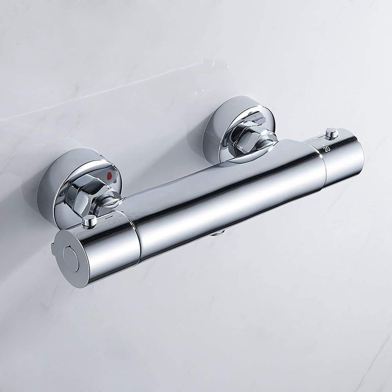 LIUFENG Bathroom Shower Faucet Set Waterfall Shower Faucets Thermostatic Mixing Valve Thermostatic Shower Mixer