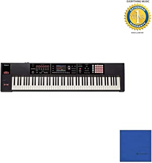 Roland 88-key Weighted-action Music Workstation (FA-08) with Microfiber and 1 Year Everything Music Extended Warranty