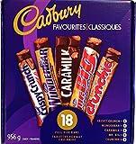 Cadbury Favourites 18 Full Size Chocolate Bars 2.1lbs (Canadian Product)
