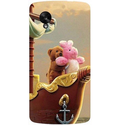 Casotec Funny Titanic Design Hard Back Case Cover for LG Google Nexus 5