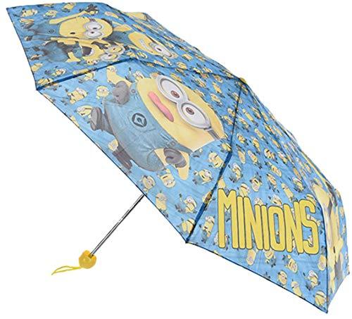 Minions Ich einfach unverbesserlich Regenschirm faltbar mit Schutztasche