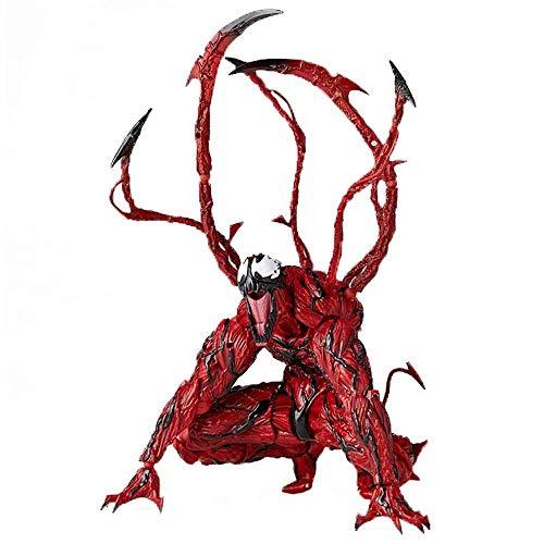 GXHLLYZY Marvel Spiderman Carnage Action Figure 7 Pulgadas, PVC Carnage Toys, Las Articulaciones Pueden Estar Activas, Pueden Crear Diferentes Formas