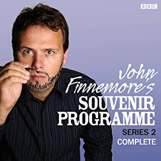 John Finnemore's Souvenir Programme: The Complete Series 2                   By:                                                                                                                                 John Finnemore                               Narrated by:                                                                                                                                 John Finnemore                      Length: 2 hrs and 46 mins     350 ratings     Overall 4.8