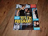 People magazine, January 23, 2006-Angelina Jolie-Angelina Jolie reveals,'Yes, I'm Pregnant.' The star confirms she and Brad Pitt are expecting their first child.
