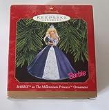 Hallmark Keepsake Ornament – Millennium Princess Barbie 1999 (QXI4019)