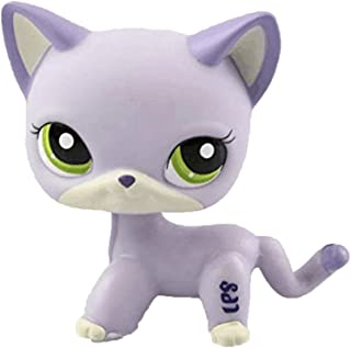 Meetsunshine LPS Figure Toy,Cute LPS Cat Child Loose Toy Home Decoration Standing Cat