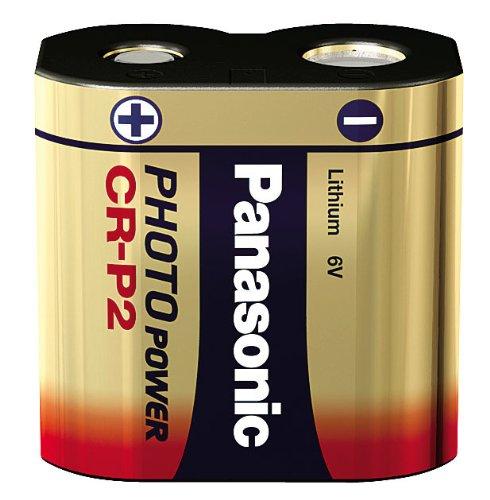 Panasonic CR-P2, 6V, 1400mAh Li-Ion, Photo, CR-P2L_1BP (Li-Ion, Photo)