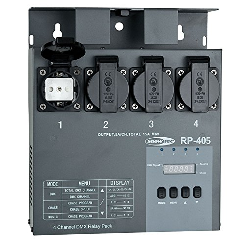 Showtec RP-405 MKII Relay Pack Switchpack
