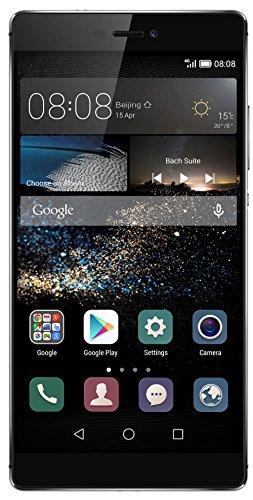 """Huawei P8 Grace - Smartphone de 5.2"""" (Kirin 930 Octa Core 2 GHz, cámara 13 MP, memoria interna de 16 GB, 3 GB RAM, Android 5.0) color gris"""